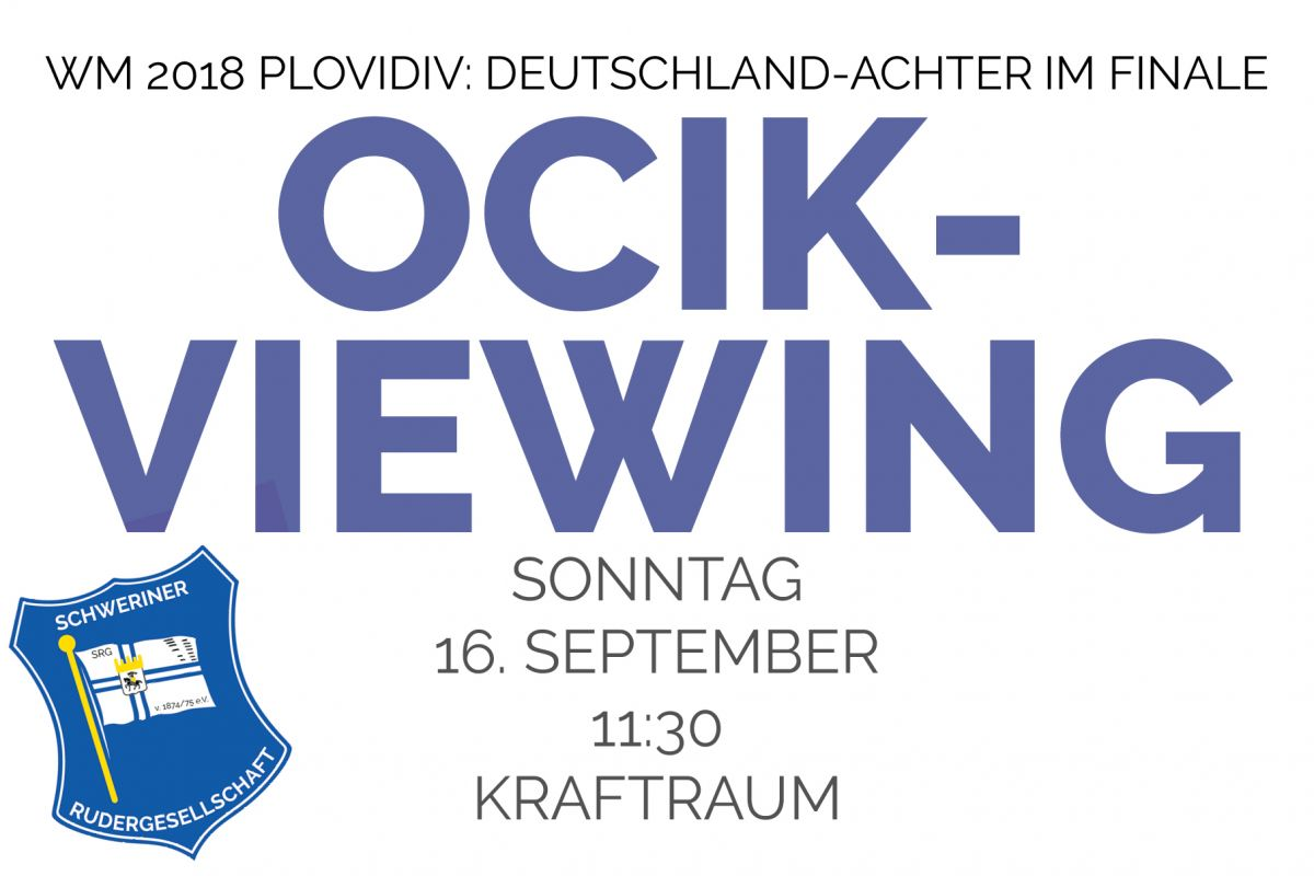 Ocik-Viewing am Sonntag, 16. September 2018